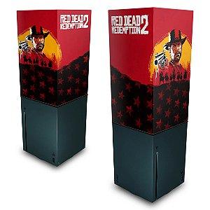Xbox Series X Capa Anti Poeira - Red Dead Redemption 2