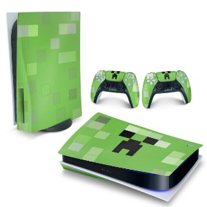 Skin PS5 - Creeper Minecraft