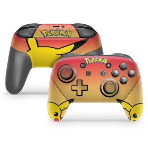 Nintendo Switch Pro Controle Skin - Pokémon: Pikachu