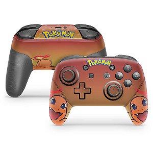 Nintendo Switch Pro Controle Skin - Pokémon Charmander