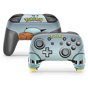 Nintendo Switch Pro Controle Skin - Pokémon Squirtle
