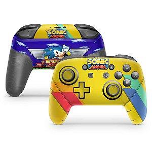 Nintendo Switch Pro Controle Skin - Sonic Mania