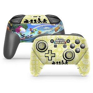 Nintendo Switch Pro Controle Skin - New Super Mario Bros. U
