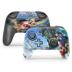 Nintendo Switch Pro Controle Skin - Mario Kart 8