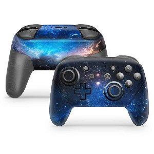 Nintendo Switch Pro Controle Skin - Universo Cosmos