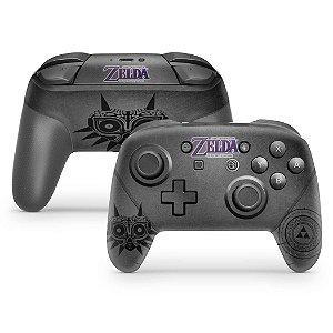 Nintendo Switch Pro Controle Skin - Zelda: Majoras Mask