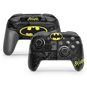 Nintendo Switch Pro Controle Skin - Batman Comics