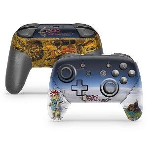 Nintendo Switch Pro Controle Skin - Chrono Trigger