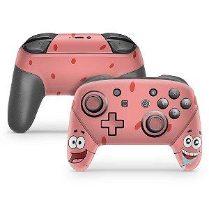 Nintendo Switch Pro Controle Skin - Patrick Bob Esponja