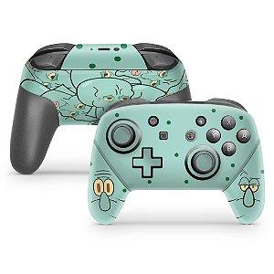 Nintendo Switch Pro Controle Skin - Lula Molusco