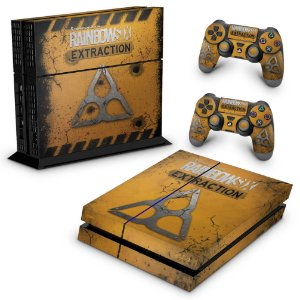 PS4 Fat Skin - Tom Clancy's Rainbow Six Siege Extraction