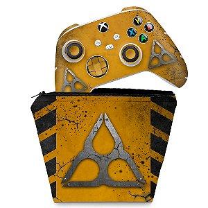 KIT Capa Case e Skin Xbox Series S X Controle - Tom Clancy's Rainbow Six Siege Extraction