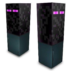 Xbox Series X Capa Anti Poeira - Minecraft Enderman