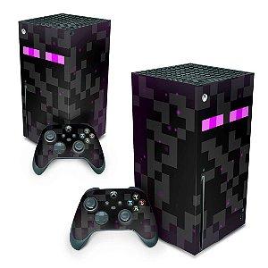 Xbox Series X Skin - Minecraft Enderman