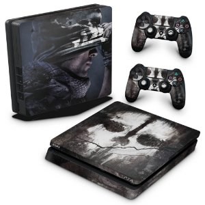 PS4 Slim Skin - Call of Duty Ghosts