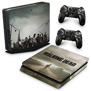 PS4 Slim Skin - The Walking Dead