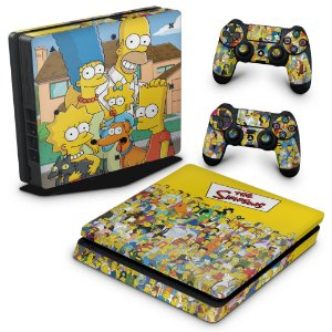 PS4 Slim Skin - The Simpsons