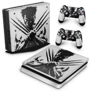 PS4 Slim Skin - Wolverine - X Men