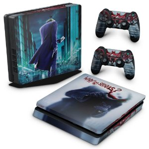 PS4 Slim Skin - Coringa Joker #A