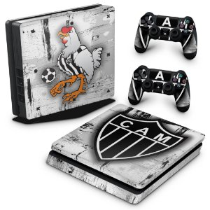 PS4 Slim Skin - Atletico Mineiro