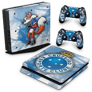 PS4 Slim Skin - Cruzeiro