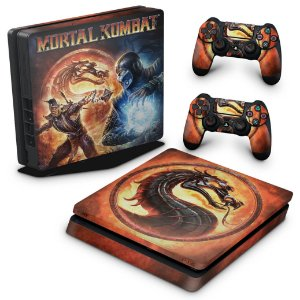 PS4 Slim Skin - Mortal Kombat