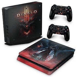 PS4 Slim Skin - Diablo