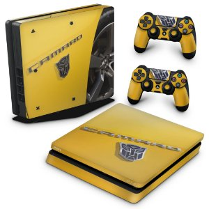 PS4 Slim Skin - Camaro - Transformers
