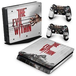PS4 Slim Skin - The Evil Within