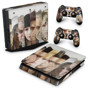 PS4 Slim Skin - Final Fantasy XV #A