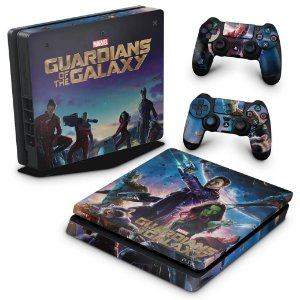 PS4 Slim Skin - Guardioes da Galaxia
