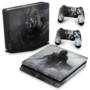 PS4 Slim Skin - Middle Earth: Shadow of Murdor