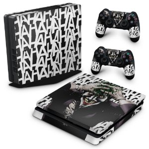PS4 Slim Skin - Joker Coringa Batman