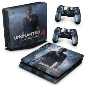 PS4 Slim Skin - Uncharted 4