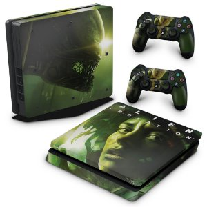 PS4 Slim Skin - Alien Isolation