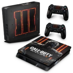 PS4 Slim Skin - Call of Duty Black Ops 3