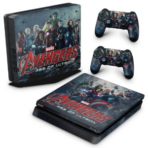 PS4 Slim Skin - Avengers - Age of Ultron