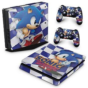 PS4 Slim Skin - Sonic The Hedgehog