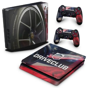 PS4 Slim Skin - DriveClub