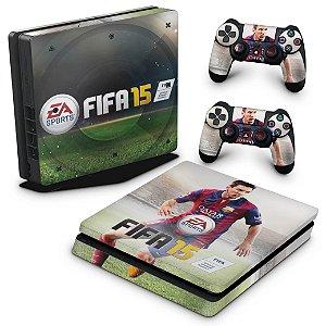 PS4 Slim Skin - Fifa 15