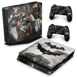 PS4 Slim Skin - Batman Arkham Knight