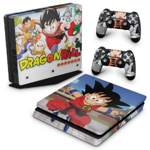 PS4 Slim Skin - Dragon Ball Z #B