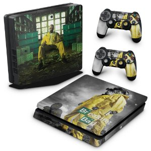 PS4 Slim Skin - Breaking Bad