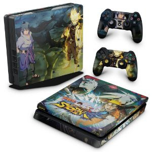 PS4 Slim Skin - Naruto Shippuden: Ultimate Ninja Storm 4