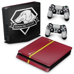 PS4 Slim Skin - The Metal Gear Solid 5 Special Edition