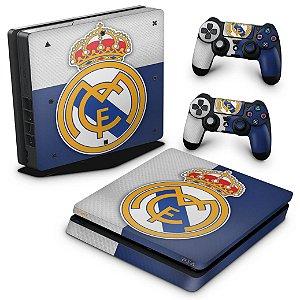PS4 Slim Skin - Real Madrid