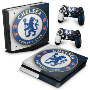 PS4 Slim Skin - Chelsea