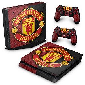 PS4 Slim Skin - Manchester United