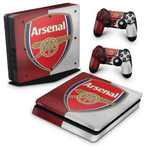 PS4 Slim Skin - Arsenal