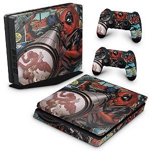 PS4 Slim Skin - Deadpool